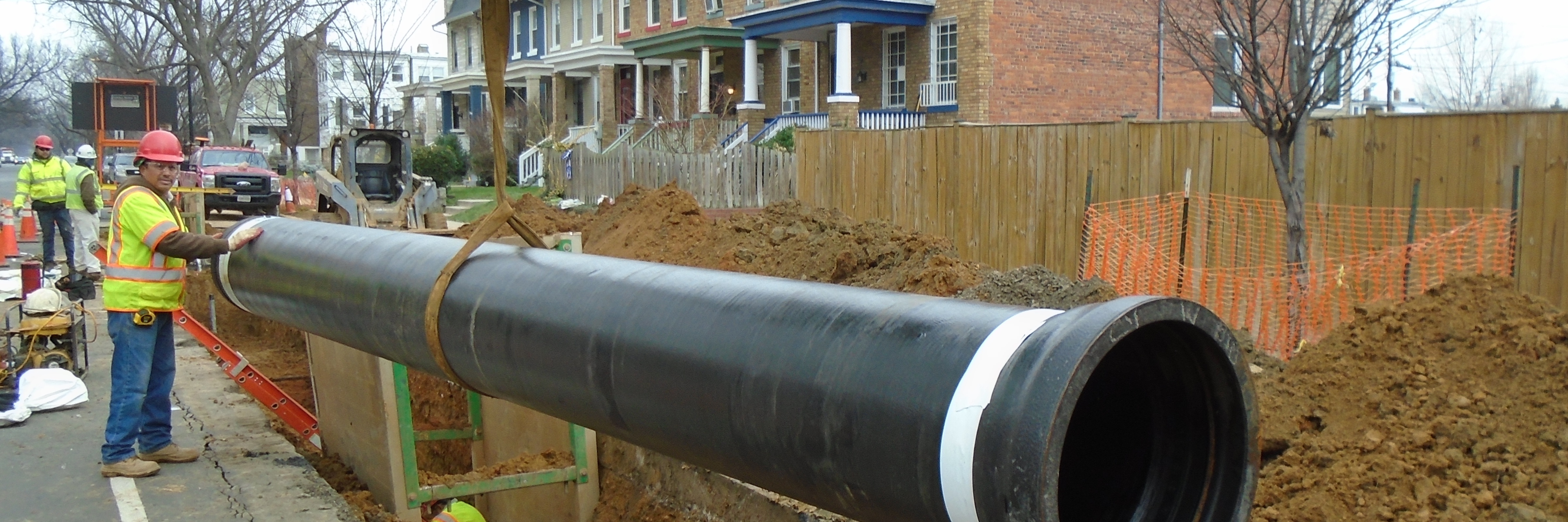 """Installing New 30"""" Water Main for DC WATER"""