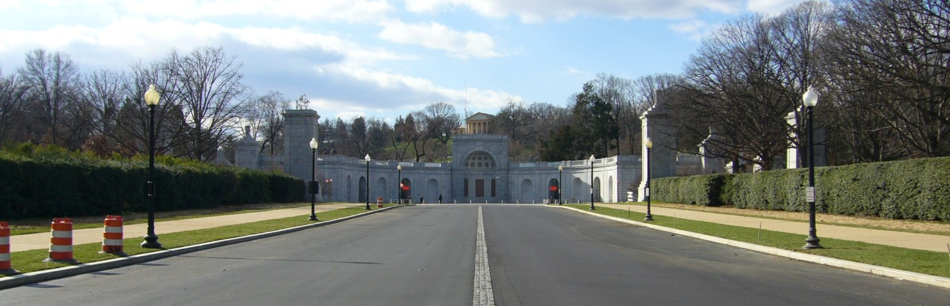 New Roadway at the Arlington National Cemetary
